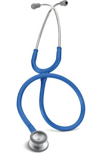 Stethoscope Littmann Classic Ll S e Pediatric Steel Finish Royal L2136 Roy