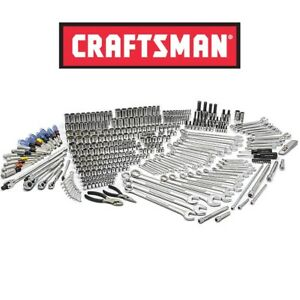 New Craftsman 376pc Mechanic Tool Set Wrench Sockets Torx Bit Deep Ratchet Nut