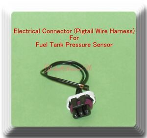 3 Wire Electrical Connector Of Fuel Tank Pressure Sensor As506 Fits Gm