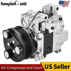 For 2007 2008 Mazda Cx 7 L4 2 3l Dohc Replaces H12a1al4cx Ac Air Compressor