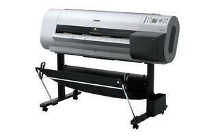 Canon Imageprograf Ipf710 36 Wide Large Format Big Inkjet Printer Plotter