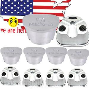 10 Us Stock Dental Dentist Aluminum Duplicating Flasks Compressor Compress Press