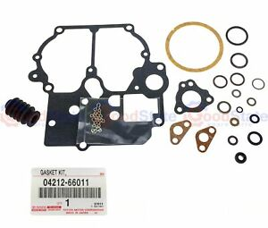 Genuine Toyota Landcruiser 70 80 Series 1fz F 4 5l Carby Overhaul Gaskets Kit