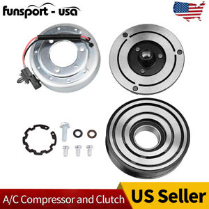 Ac A C Compressor Clutch Repair Kit Coil Pulley For Nissan Murano 2009 2013
