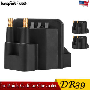 Pack Of 3 Ignition Coils For Buick Cadillac Chevrolet Oldsmobile Pontiac Dr39