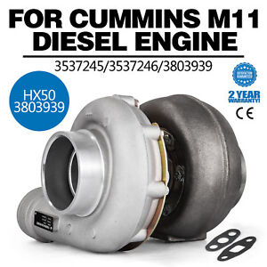 Tt Hx50 3803939 Turbocharger Fit Cummins M11 Diesel Engine T4 Flange Hot