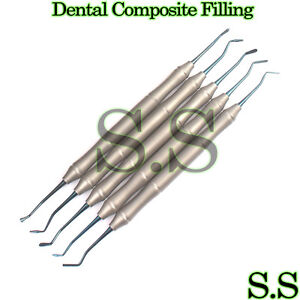 Dental Composite Filling Instrument Light Weight Titanium Coated Dn 2005