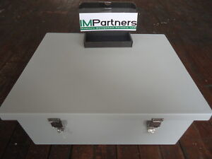 Am2068l Allied Moulded Products Jic Size Junction Box lockable Snap Brand New