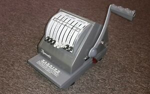 Paymaster 9000 8 Check Writer Protector All Gray Color
