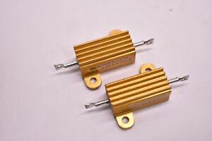 Vishay Dale Aluminum Power Resistor Rer70fr237r Lot Of 2