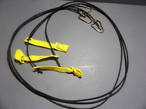 Tie Cords For Poultry Chickens Six Cords 6ft Each Nylon Hitches