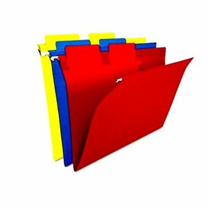 Selectab Hanging File Folders Color Assorted