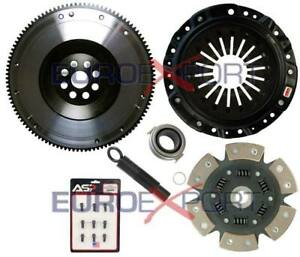 6 Puck Sprung Stage 4 Competition Clutch Flywheel Kit For Honda S2000 8023 1620