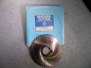 New Niagara Mc5022 Hss Slitting Saw 5 Od X 1 8 Thick X 1 1 4 Id X 44 Teeth