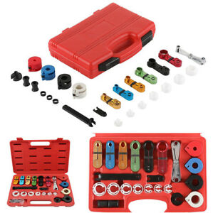 22pcs A c Air Condition And Fuel Line Disconnect Tool Boxed Set For Ford Gm Car