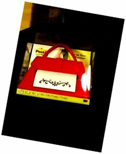 Post it Pop up Note Dispenser Purse Red Pd 654 us r