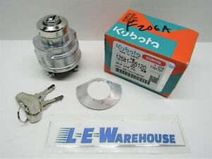 Kubota Ignition Switch Wg600 Wg750 Part 12581 55120