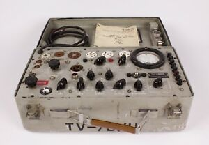 Forway Industries Inc Tv 7b u Tube Tester Not Calibrated