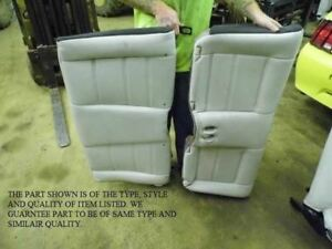 01 02 03 04 Mustang Convertible Rear Back Seat White Leather