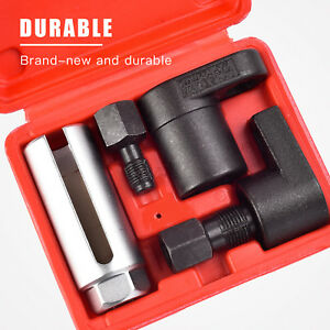 5pcs O2 Oxygen Sensor Socket Thread Chaser Install Remove Wrench M18 M12 Vacuum
