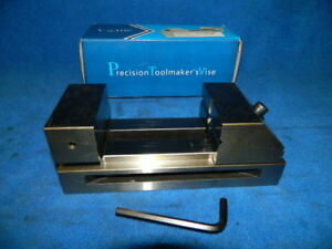 New 3 Precision Toolmakers Screwless Vise
