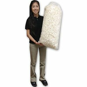 Ecobox Bio Degradeable Packing Peanuts 1 5 Cuft Yellow e 3105