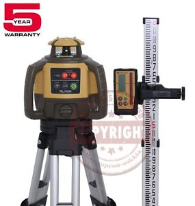 Topcon Rl h5a Rechargeable Self leveling Rotary Slope Laser Level rb grade inch