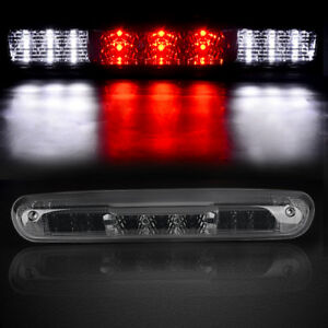For 07 13 Chevy Silverado Led Smoke Rear 3rd Third Stop Brake Light Cargo Lamp