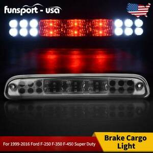 For 1999 2016 Ford F 250 F 350 Led Smoke Rear 3rd Third Brake Light Cargo Lamp