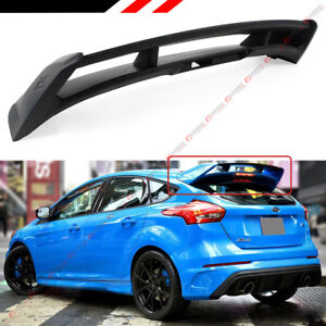 Fits For 2012 2018 Ford Focus St Se Hatchback Rs Style Rear Roof Spoiler Wing