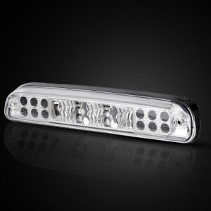 For 99 16 Ford F 250 F 350 F 450 Led Clear Rear 3rd Third Brake Light Cargo Lamp