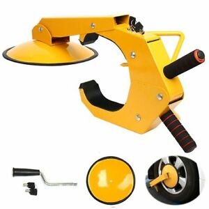 Clamp Boot Tire Claw Parking Car Truck Rv Boat Trailer Anti Theft Wheel Lock