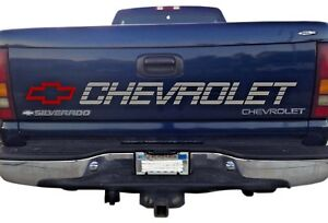 Chevrolet Tailgate Decal 454 Ss 4 Door Single Cab Truck Sticker