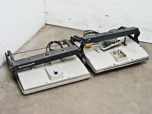 Seal Inc Commercial 210 Dry Mount Laminating Press Lot Of 2 As Is