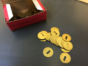 Charles Leonard 2w Brass Washers For Paper Fasteners 6 000 Total