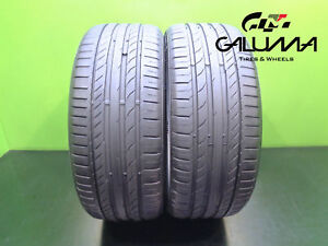 2 Nice Contiental Tires 225 40 19 Contisportcontact 5 Runflat Tech Bmw 46891