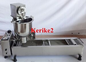 Commercial Automatic Donut Fryer Maker Machine W Molds cake Minis Recipes