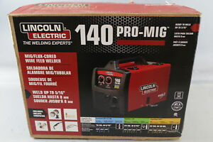 Lincoln Electric 140 Pro mig Mig flux Cored Wire Feed Welder K2480 1