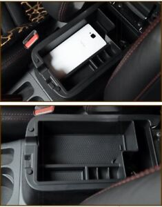 For Mitsubishi Outlander Sport 2012 2018 Interior Armrest Storage Organizer Box