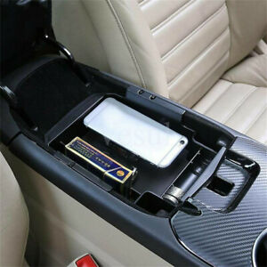 Fit For Ford Fusion 2013 2016 Center Armrest Secondary Storage Box Organizer