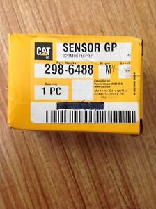 Genuine Oem Cat Caterpillar Part 298 6488 Sensor Pressure Brand New