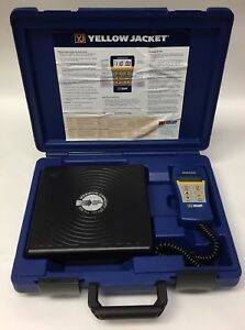 Yellow Jacket Model 68802 Digital Electronic Charging Refrigerant Scale 110 Lb