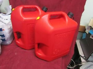 Blitz 6 Gallon 16 Ounces Red Plastic Gas Can Vented With Flexible Spout 2