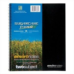 Roaring Spring Environotes 2 subject Notebooks 13364