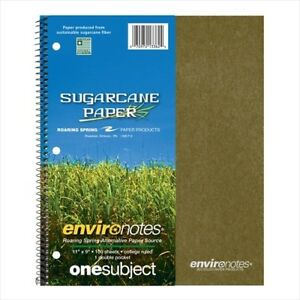 Roaring Spring Environotes 1 subject Notebooks 13362