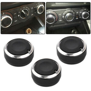 3x A C Heater Switch Knob Climate Control Button For 02 2014 Toyota Tacoma Vios
