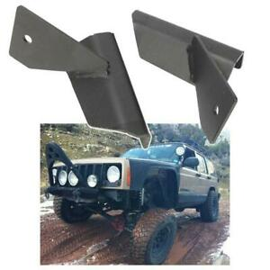 Mount Brackets Fit For Jeep Cherokee Xj 1984 01 For 4inch 18w Led Work Light Bar