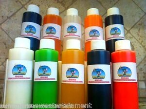 Snow Cone Syrup Flavor Mix Concentrate Shaved Ice Kone Mix 20 Pack