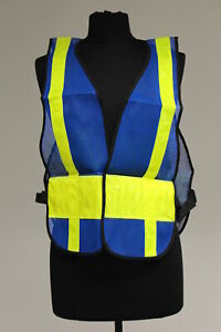 Galls Mesh Traffic Vest Size Regular New