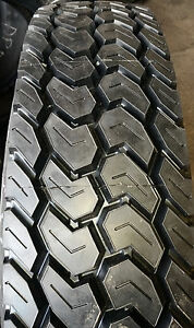 4 Tires Retreads 255 70r22 5 Recap Mud Snow Truck Tire 255 70 22 5 25570225